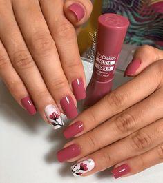 18 - 2019 - 2020 most beautiful nail models - 1 period nail designs. Nail beauty is one of the sine qua non for women. Acrylic Nail Designs, Nail Art Designs, Acrylic Nails, Nail Designs Spring, Stylish Nails, Trendy Nails, Diy Nails, Cute Nails, Nagellack Design