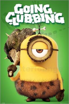 Poster #Minions - Going #Clubbing