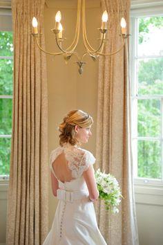 classic bridal hair half up half styled by Roxy Farrier info@roxyfarrier.co.uk