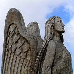 wood carving - angel | Flickr - Photo Sharing!