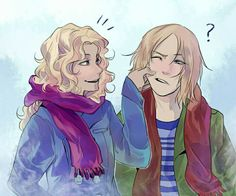 Annabeth and Magnus Chase
