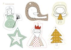 Tarjetas-Adornos de Navidad | Wefreebies http://www.wefreebies.com/tarjetas-de-navidad/