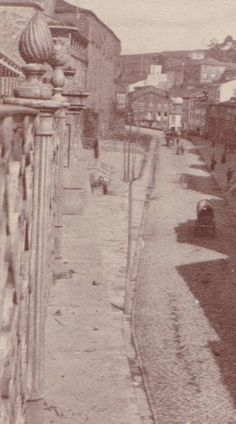 Virxe da Cerca. Fotos antiguas de Compostela