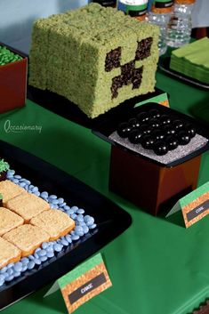 Minecraft Birthday Party Birthday Party Ideas | Photo 6 of 20 | Catch My Party