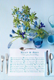 Favorite Things Placemats