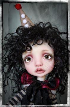 OOAK Customized Mystery YOSD BJD by Nefer Kane, artist Faceup by Liz Frost