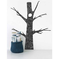 Ferm Living Old Tree Wallsticker - fawn&forest