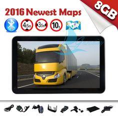 GOLDBAY 128MB 8GB FM POI Touch Screen Car GPS Navigation SAT NAV UK EU Free Maps in Vehicle Parts & Accessories, GPS, Audio & In-Car Technology, GPS & Sat Nav | eBay!