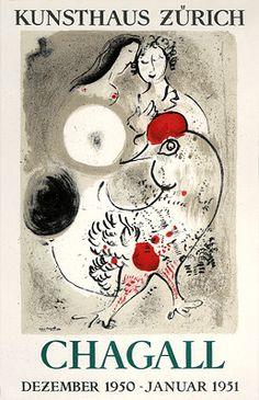 Chagall, Marc - MP. 15 - Kunsthaus, Zurich. December 1950