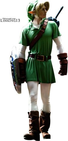 Link Ocarina of Time cosplay