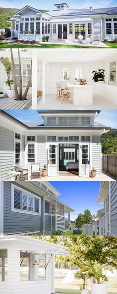 Tap into your inner designer with these Top 5 finishes for Hamptons style windows and doors! #Hamptons #Renovations