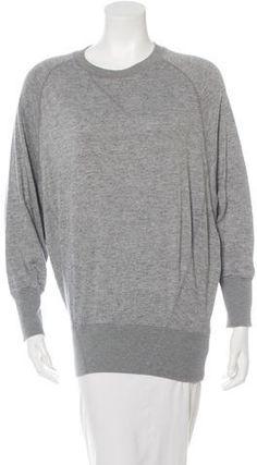 By Malene Birger Dolmen Sleeve Pullover Sweatshirt Malene Birger, Grey Sweatshirt, Hoodies, Sweatshirts, Pullover, Stylish, Sleeves, Sweaters, Tops