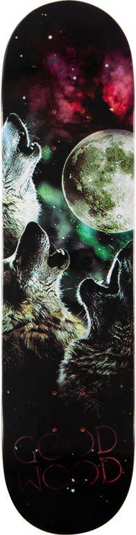 Goodwood Wolf Moon 7.75 Skateboard Deck