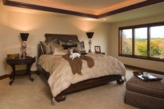 Luxury Master Bedroom in Plan 013S-0009 | House Plans and More