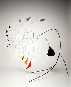 A.Calder, little spider vers 1940