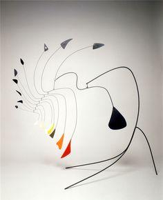 A.Calder, little spider vers 1940