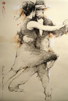 Tango, Abstract, Drawings, Artwork, Summary, Work Of Art, Auguste Rodin Artwork, Sketches, Artworks