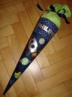 """Schultüten - Schultüte """"Starman"""" - ein Designerstück von Zuckerhexe bei DaWanda"""