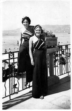 1930s Beach Pajamas Resort Wear   LA MODE PYJAMA : PYJAMAPOLIS