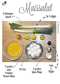 Leckerer Maissalat – Perfekt zum Grillen