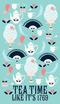 Like it's 1769, baby! :) #tea_party #poster #colonial