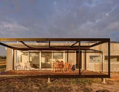 Tagged: Exterior, Prefab Building Type, and House Building Type. Photo 3 of 5 in An Off-the-Grid Prefab in Australia Uses Salvaged Iron as Camo. Browse inspirational photos of modern exteriors from houses to cabins, apartments to shipping containers. Prefab Buildings, Prefabricated Houses, Prefab Homes, Modular Cabins, Modular Homes, Modular Housing, Farm Shed, Farm House, Cabinet D Architecture