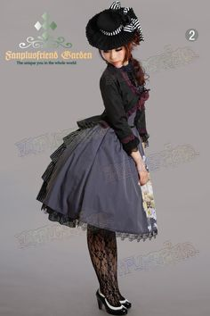 That bustle skirt and hat are amazing! I love the co-ord in general a lot too.
