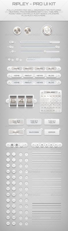 Ripley UI Kit - GraphicRiver Item for Sale