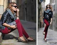Chanel Bag, Stradivarius Pants, Zara Leo Ballerinas, Lanvin Sunnies, Rock Rebelz Tee