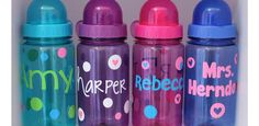 Personalized Water Bottles.. Last Chance for the sale!
