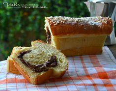 Pan brioche allo yogurt farcito alla nutella