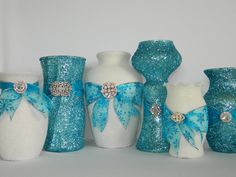 Wedding Decorations, Wedding Centerpiece, Winter Wedding, Tiffany Blue Wedding…