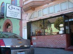 San Francisco, CA + Berkeley, CA: all vegan Japanese sushi, tempura, etc, following traditional Buddhist temple cuisine.