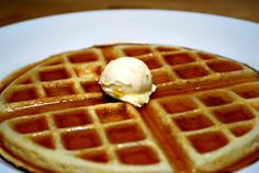 If you want to enjoy weed other than smoking it, you can certainly enjoy weed infused edibles like a Belgian waffle topped with marijuana vanilla ice cream.