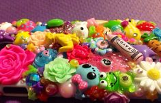 Samsung Galaxy S4 Kawaii Rainbow Bright  Decoden by KreativeKoala, $49.95