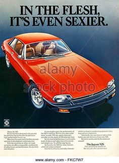 1970s UK Jaguar Magazine Advert