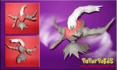 paperpokes   PaperPokés - Pokémon Papercrafts: DARKRAI