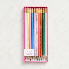 A positive pencil set from Ban.do