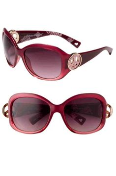 Juicy Couture Designer Sunglasses! Georgetown Eye Associate has a huge selection of these and other designer sunglasses so you can find the perfect pair to enhance your beauty and protect your eyes this summer! Get your prescription added or just wear them as the adorable pair they are.   **Georgetown Eye Associates may not have exact frame shown but can order the current style of what is shown, bring in picture and mention you found this on Pinterest**