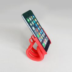 Iphone 6 (plus) 2 parts stand 3D  #3D #3Dprint #3Dprinting [more pics on Cults website]