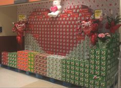 Big Red Valentine display in Albuquerque, NM