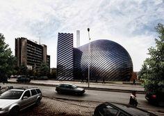 The Wall Dome (Solar Powered Mosque)   Paolo Venturella Architecture   Kosovo   DesignDaily   Designs Everyday!