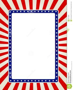 Free Patriotic Page Borders | Patriotic border