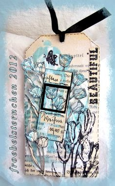 #papercraft #tag #embellishments froebelsternchen: Tags