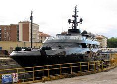Giorgio armanis boat