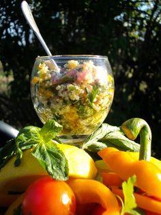 Taboulé au quinoa sans gluten et sans lactose