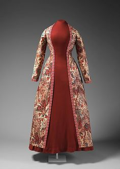 Robe Date: mid-18th century Culture: Netherlands Medium: cotton, linen Accession Number: 2012.561