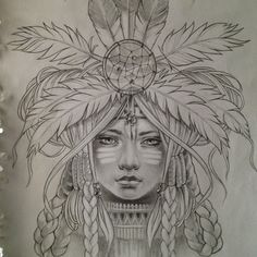 wolf indian headdress art - Google Search
