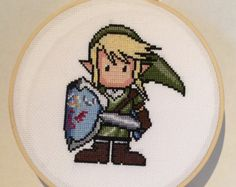 Completed Cross Stitch Embroidery Fashion by NellysLittleGifts