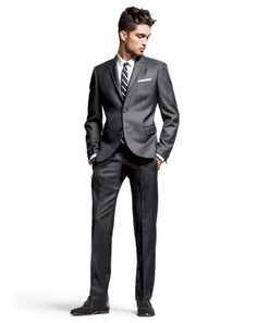 Go Short—Shorter Than You Think Your Suit Is (Probably) Too Long. You might have noticed, on the runways and in our pages, that guys are wearing much shorter suit jackets these days. And it's a look we like. Partly because it goes with the slimmer, trimmer suit style, and also because most guys wear their suits too long. Photo: Lorenzo Bringheli